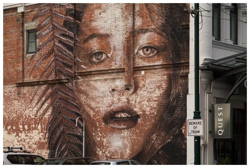 Mural in Christchurch