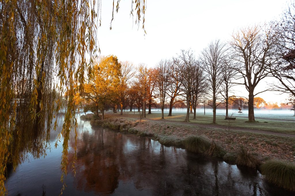 Avon River, Hagley Park