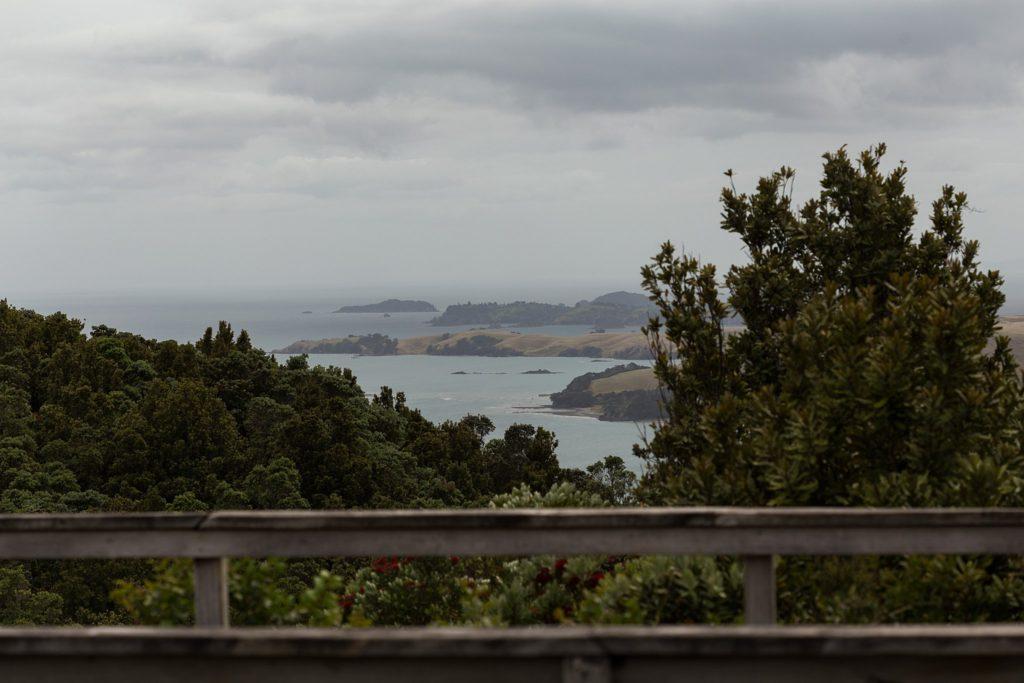 Rangitoto - looking out over Motutapu